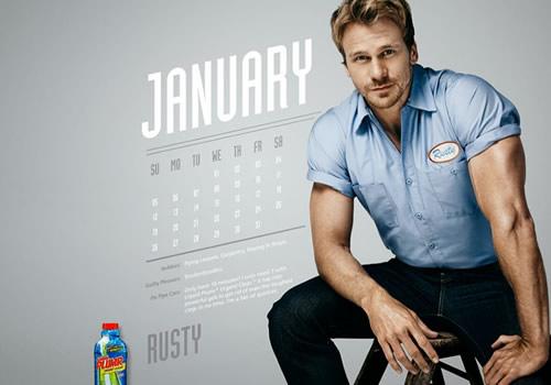 Liquid Plumr Calendar: Mr. February