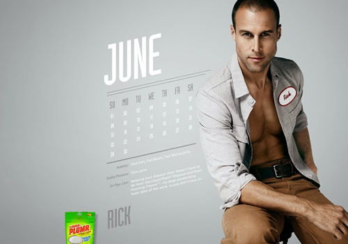Liquid Plumr Calendar: Mr. June