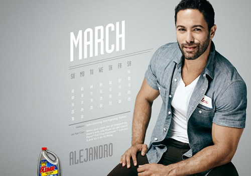Liquid Plumr Calendar: Mr. March