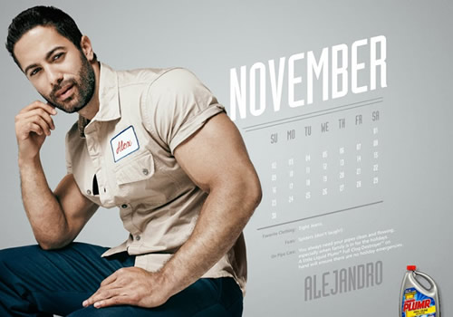 Liquid Plumr Calendar: Mr. November
