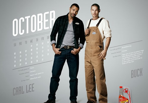 Liquid Plumr Calendar: Mr. October