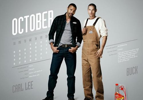 Liquid Plumr Calendar: Mr. October