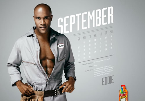 Liquid Plumr Calendar: Mr. September