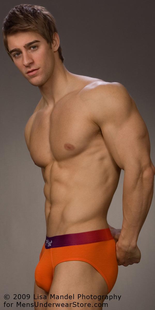 Underwear Model Luke Guldan