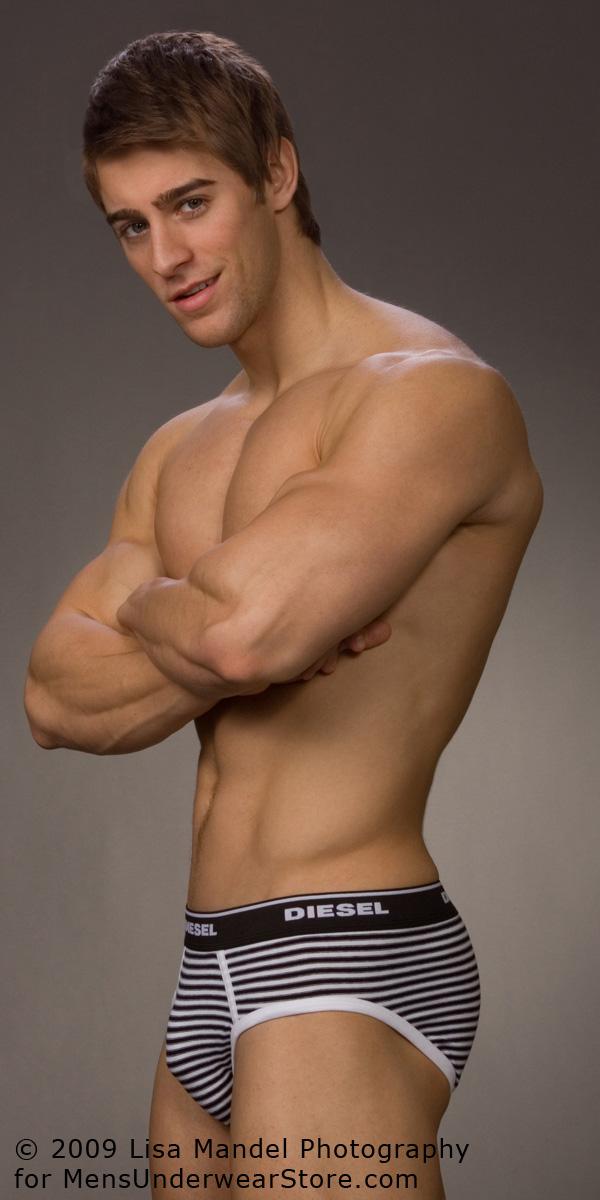 Fitness Model Luke Guldan for Mens Underwear Store
