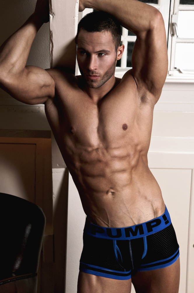 Fitness Model Ruben Baars