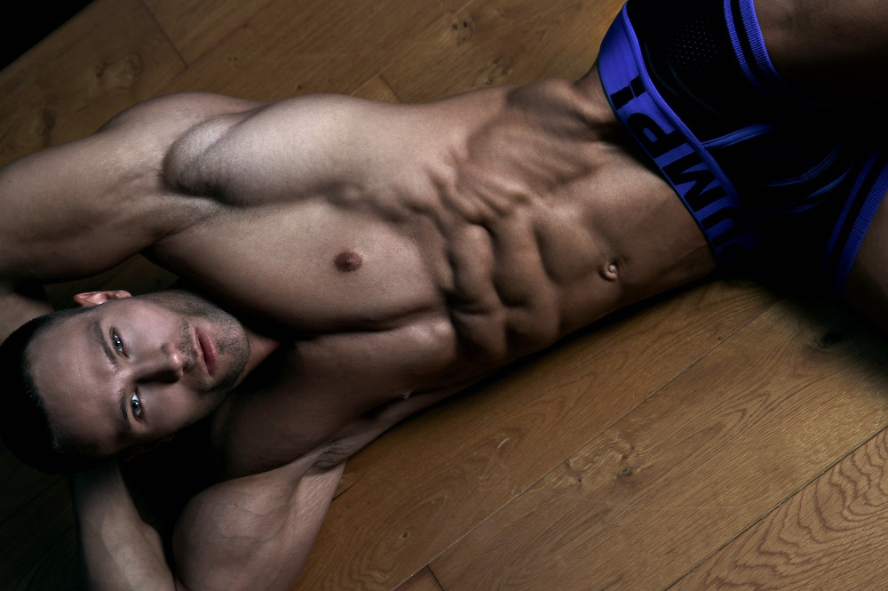 Pump Underwear Model Ruben Baars